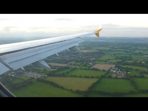 Monarch ZB7015 Landing at Gatwick Airport 200917