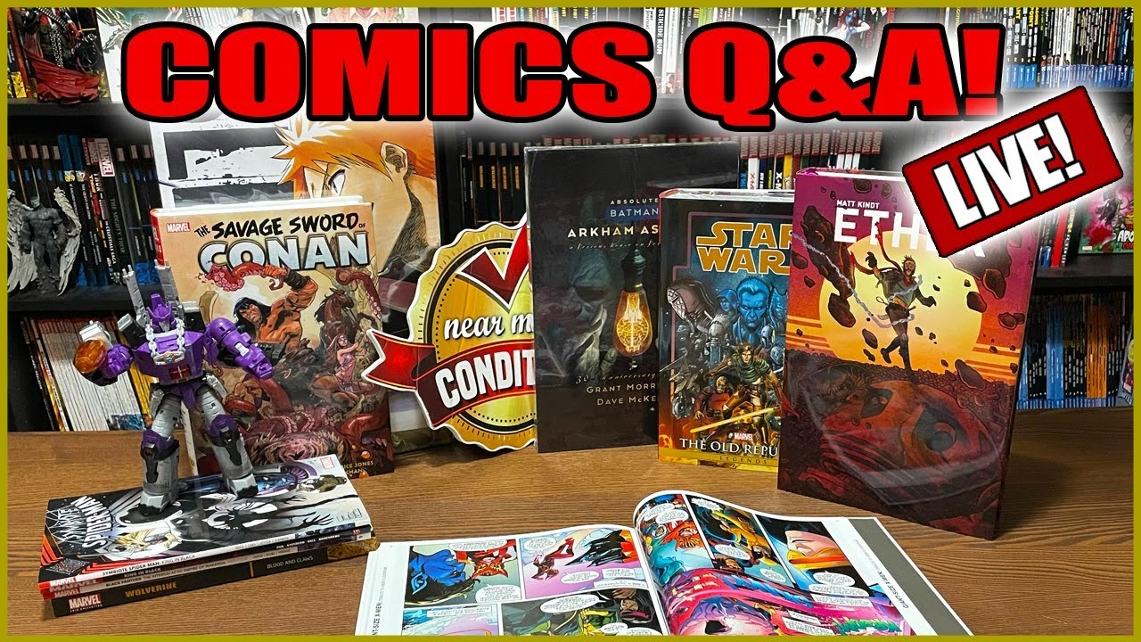 Download Q&A and Comics Talk!  (07/03/21)
