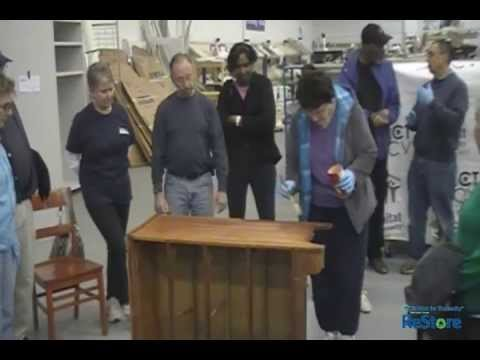 Do-It-Yourself Furniture Refinishing Class - Habitat For Humanity ReStore New Castle County DE