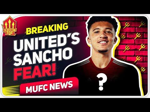 United's Sancho Transfer Concern! Man Utd Transfer News