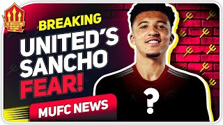 United's Sancho Transfer Concern! Man Utd Transfer News