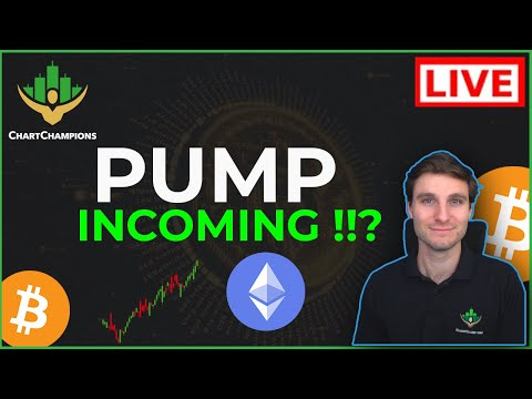 📈 BTC (+ MY TOP 5 ALTS) READY TO PUMP!? Bitcoin Technical Analysis Live Price Now Predictions