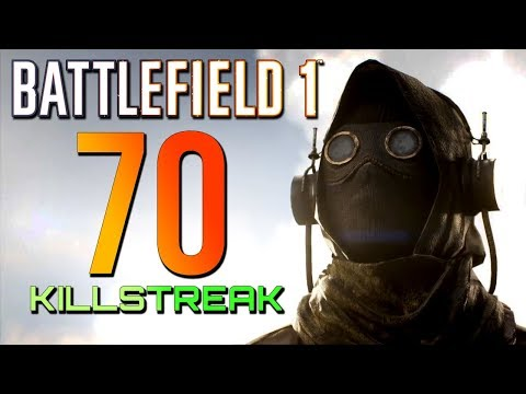 Battlefield 1: 70 Kills 0 Deaths - Turning Tides DLC (PS4 PRO Multiplayer Gameplay)