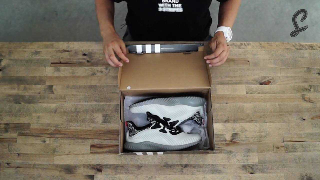 adidas Alphabounce Clear Grey Quick