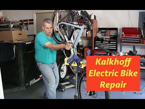 Kalkhoff electric bike adjustment and cleaning E22
