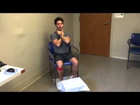 Self Manual Lymphatic Drainage For The Leg - YouTube