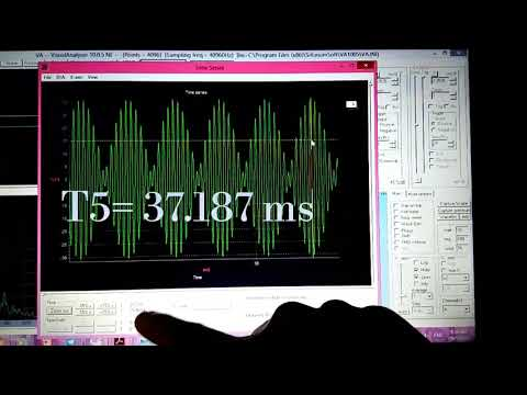Beats of Sound by Visual Analyser and Frequency Sound Generator