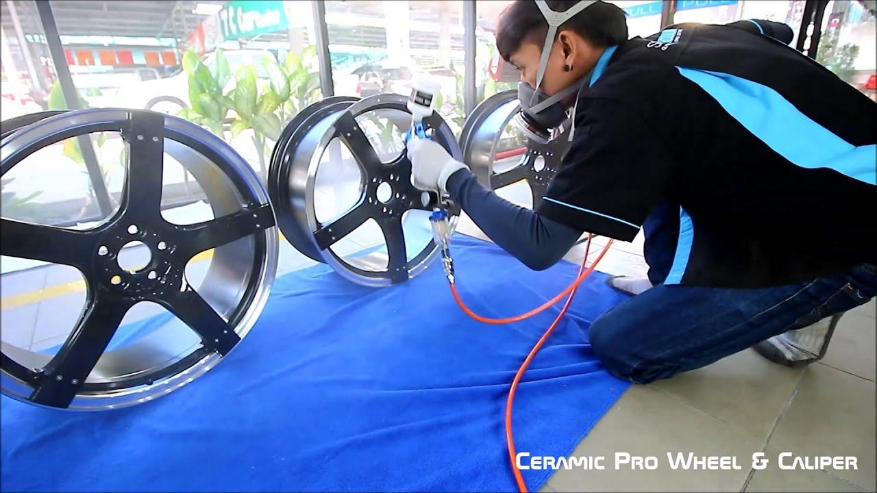 Ceramic Pro Wheel  U0026 Caliper