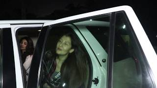 DAISY SHAH SPOTTED AT JUHU PVR