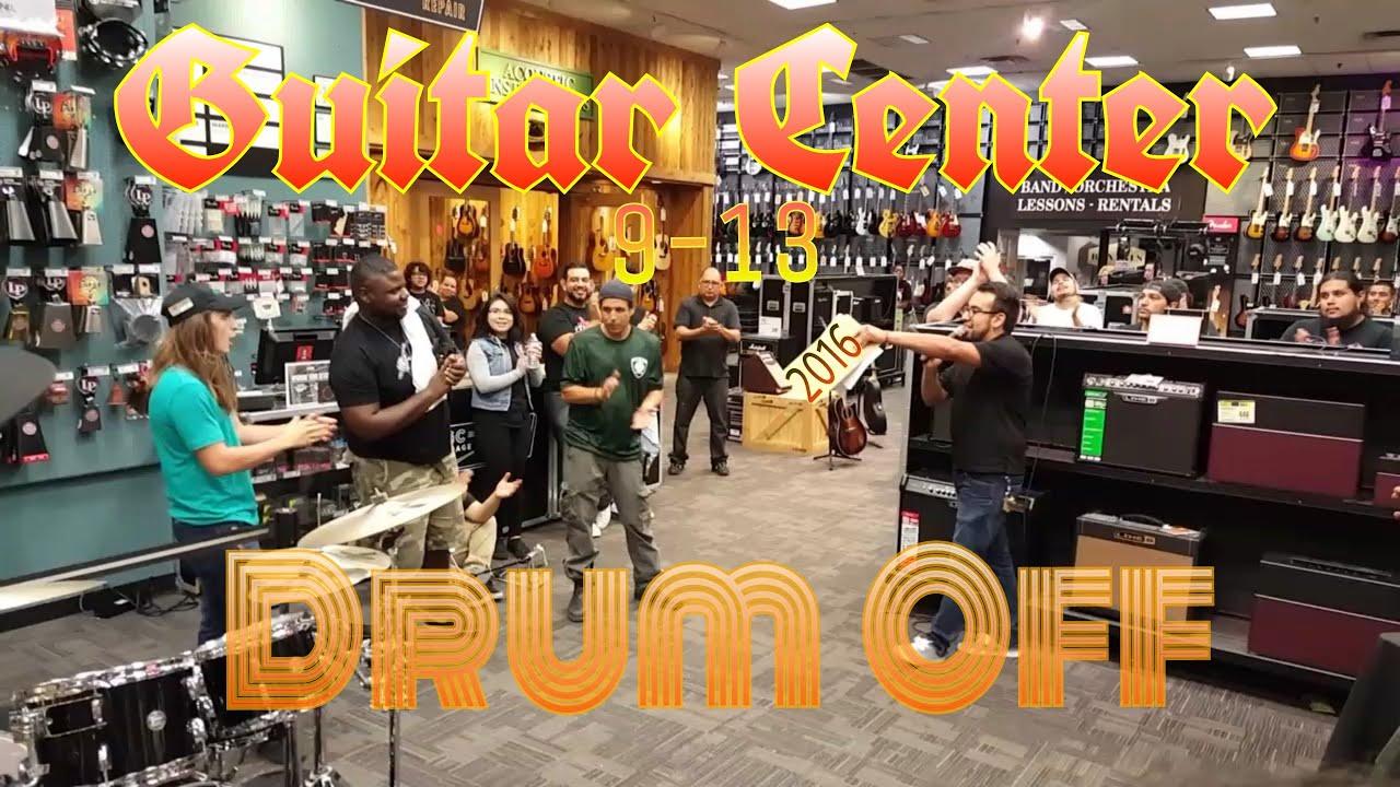drumoff at guitar center san antonio tx 9 13 16 youtube