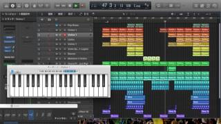 Avicii - Somewhere In Stockholm (Logic Pro X)