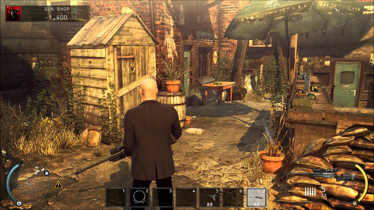 Free-roam area but mission levels. - Hitman: Absolution ...