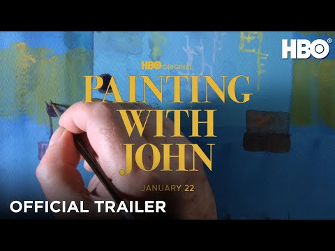 Painting With John: Official Trailer   HBO