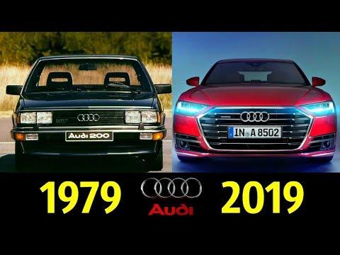 Audi A8 - Эволюция (1979 - 2019)!