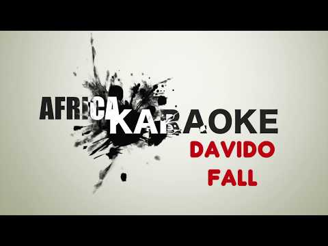 Davido - Fall | Karaoke Version (instrumental + Lyrics)