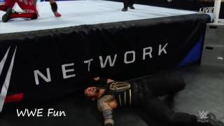 """""""WWE Fun"""" Roman Reigns vs AJ Styles - Payback 2016"""