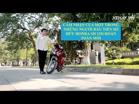 [XEHAY.VN] Chia sẻ người dùng đầu tiên sở hữu Honda Sh 2017