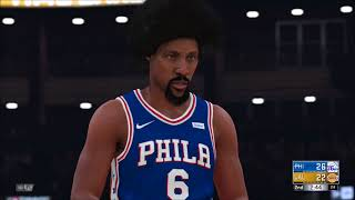 NBA 2k18 ALL TIME SIXERS VS ALL TIME LAKERS 5V5 GAMEPLAY! ALLEN IVERSON & DR J VS KOBE & SHAQ
