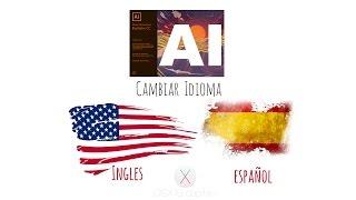 Tutorial de Adobe Illustrator CC 2017 - Cambiar Idioma de Ingles a Español (MacOS Es Yosemite)
