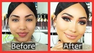 Hollywood Style Makeup Look in just 1 Minute - Easy makep Tips & Hacks - Makeup Hacks