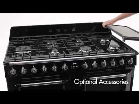 Smeg Victoria Tra4110 Freestanding Oven Youtube