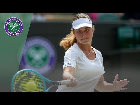 Match Point: Daria Snigur vs Alexa Noel Wimbledon 2019