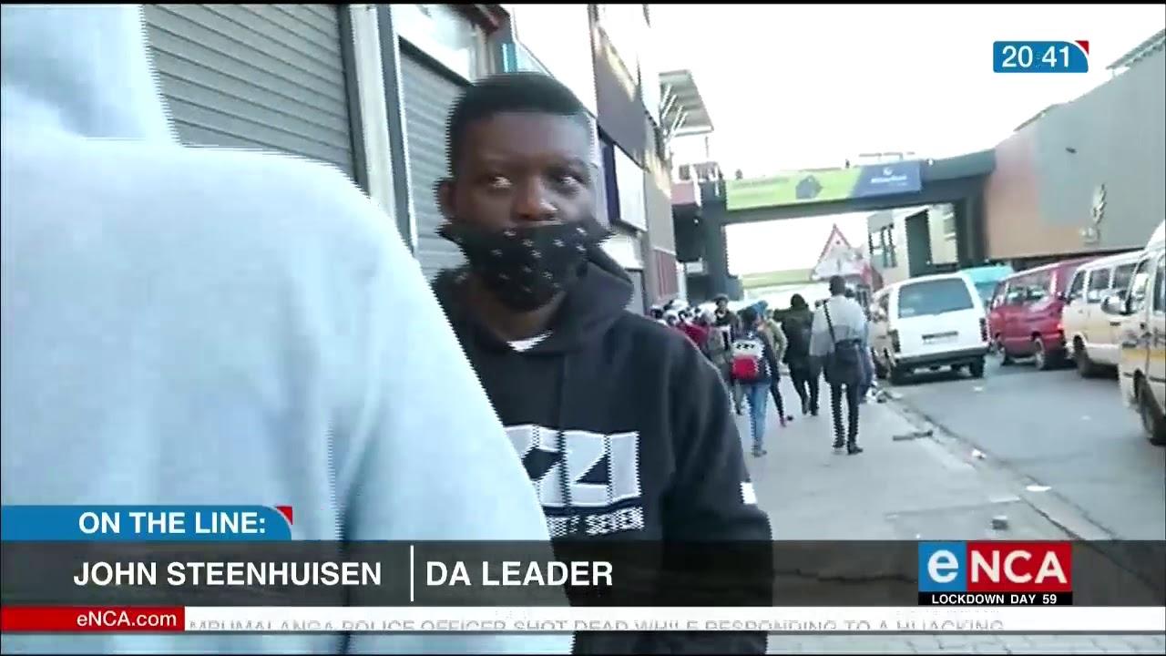 DA leader John Steenhuisen reacts to Ramaphosa's address - eNCA