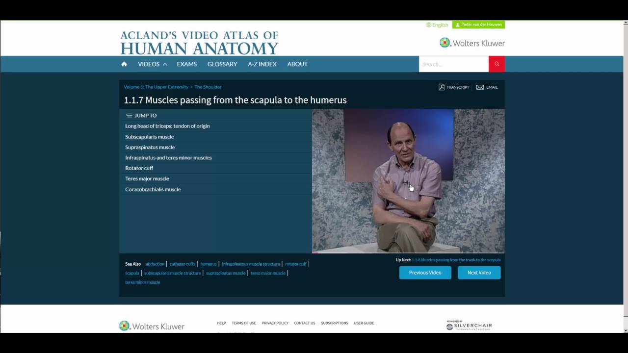 Aclands Video Atlas Of Human Anatomy Dmonstration En Franais