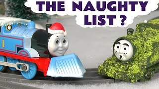 Thomas & Friends Toy Train Tom Moss With The Funny Funlings - Who'S On The Naughty List  Tt4u