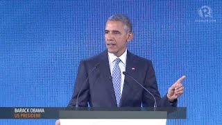 APEC CEO SUMMIT 2015: US President Barack Obama
