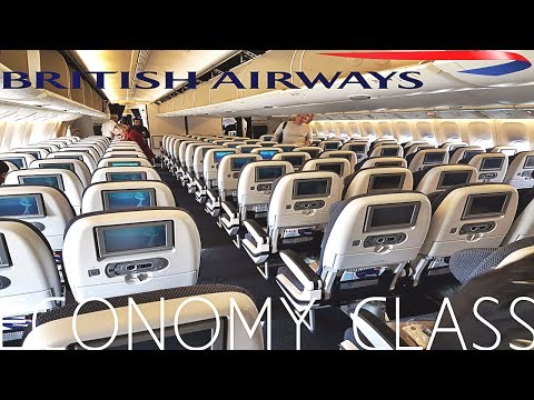 British Airways ECONOMY London to Doha|Boeing 777-200