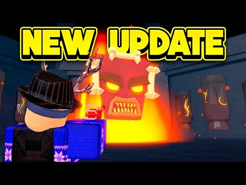 Roblox Mad City Lava Crystal New Volcano Boss Update More Roblox Mad City Youtube