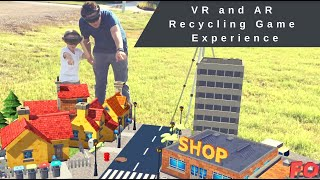 Recycling Game | Mixed Reality, Virtual Reality, and Augmented Reality Experience
