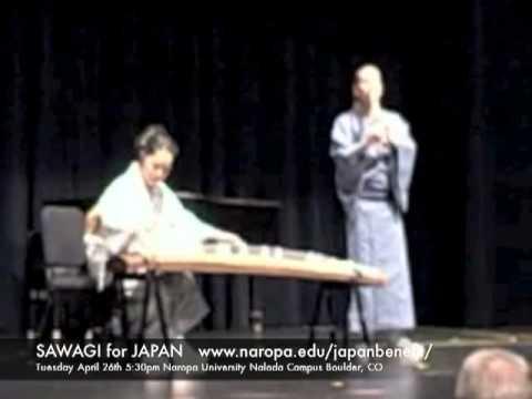 SAWAGI for JAPAN with David Wheeler and Yoko Hiraoka