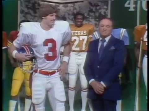 Bob Hope Christmas Special 1978 All-American Football Team
