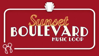 Sunset Boulevard Music Loop (2018 - ) (Reconstruction) - Disney's Hollywood Studios