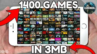 [3MB] Download 1400 Games For Android | Play Game Without Installing | Best Graphics Game On Android