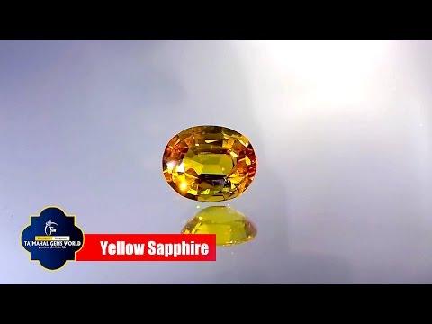 Golden Yellow Topaz / Golden Sapphire Gem stone.