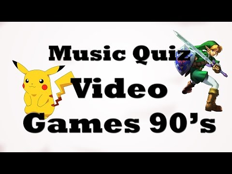 Music Quiz - Video Games 90's