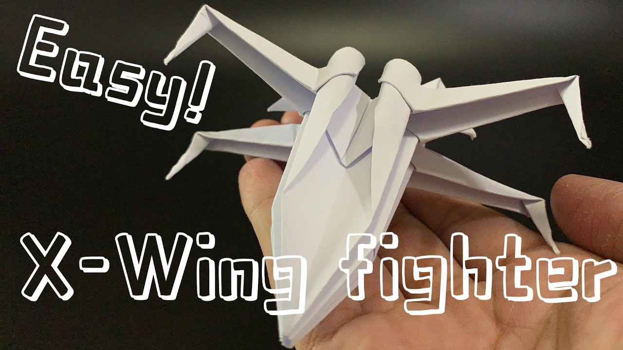 How to Origami an X-Wing Starfighter : 8 Steps (with Pictures ...   720x1280