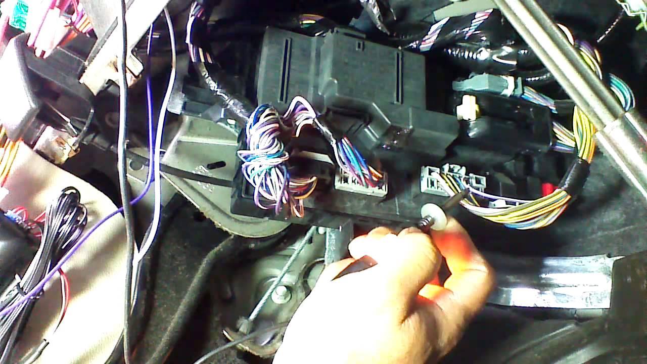 ford taurus remote start install [ 1280 x 720 Pixel ]
