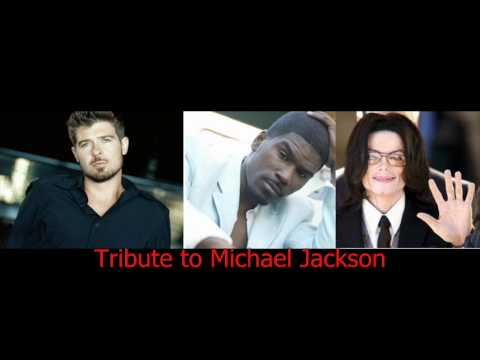 Fall Again - R.Thicke, M. Jackson and G. Lewis ( Imaginary Joint performance, with Lyrics)