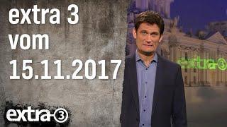 Extra 3 vom 15.11.2017