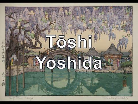 Toshi Yoshida. 24 pinturas. Ukiyo-e. #puntoalarte