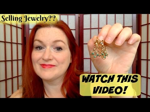 Selling Jewelry?  Watch This Video - Jewelry Seller's Cautionary Tale - Tools for Testing Jewelry