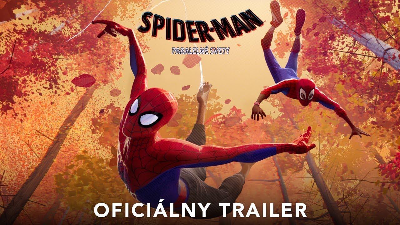 SPIDER-MAN: PARALELNÉ SVETY (trailer) - na Vianoce v kinách