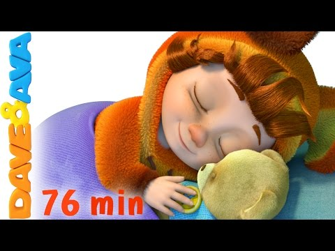 Thumbnail: ❤️ Lullabies for Babies to Go to Sleep | Bedtime Songs | Baby Songs & Lullabies from Dave and Ava