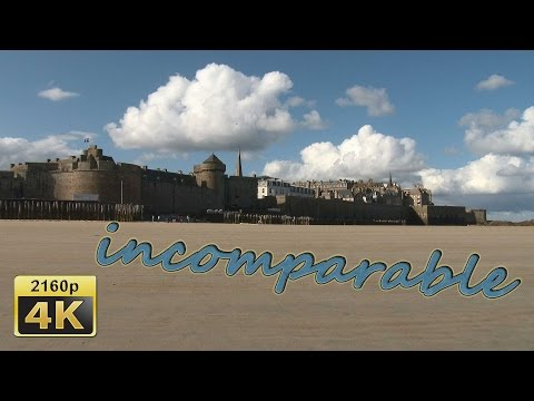 Saint Malo, Brittany - France 4K Travel Channel