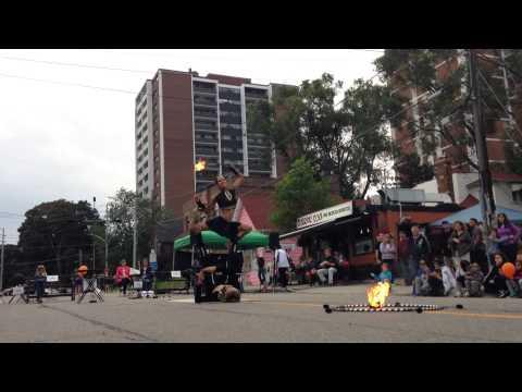 Nomad Cirquel Show at Port Credit Mississauga Canada