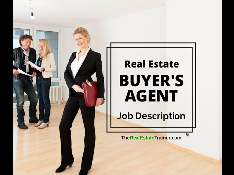 Real Estate Buyer's Agent Job Description